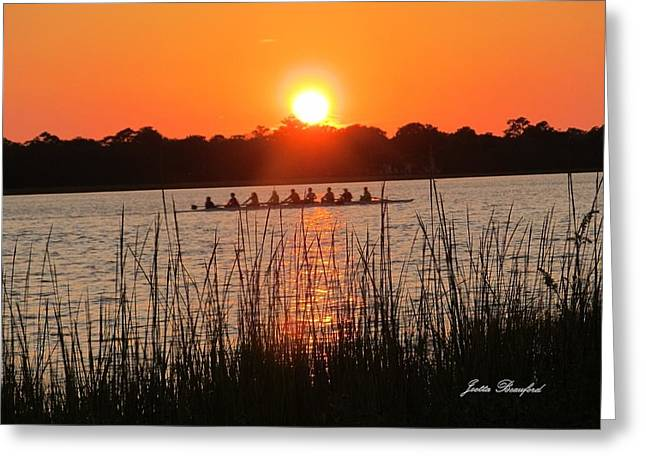 Greeting Card featuring the photograph Nine Gifts  by Joetta Beauford