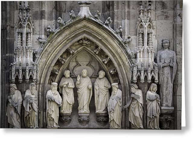 Nine Worthies Cologne Germany Greeting Card