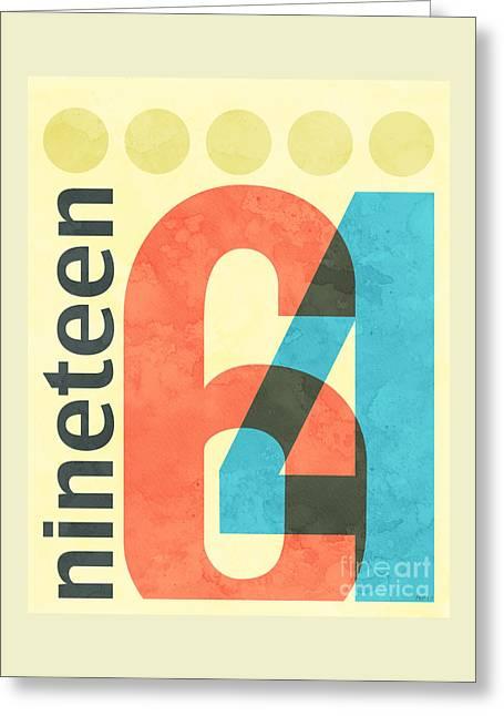 Nineteen 64 Greeting Card