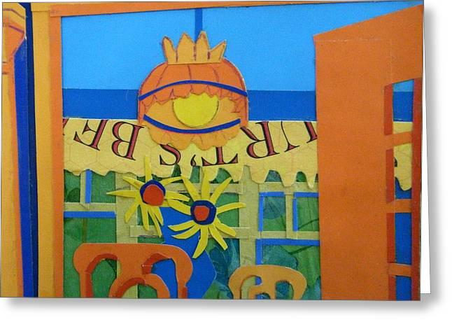 Nj Sunflowers Greeting Card by Debra Bretton Robinson