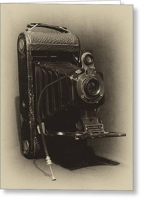 No. 1-a Kodak Jr. Greeting Card by Leah Palmer