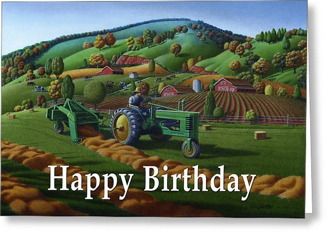 no 21 Happy Birthday 5x7 greeting card  Greeting Card