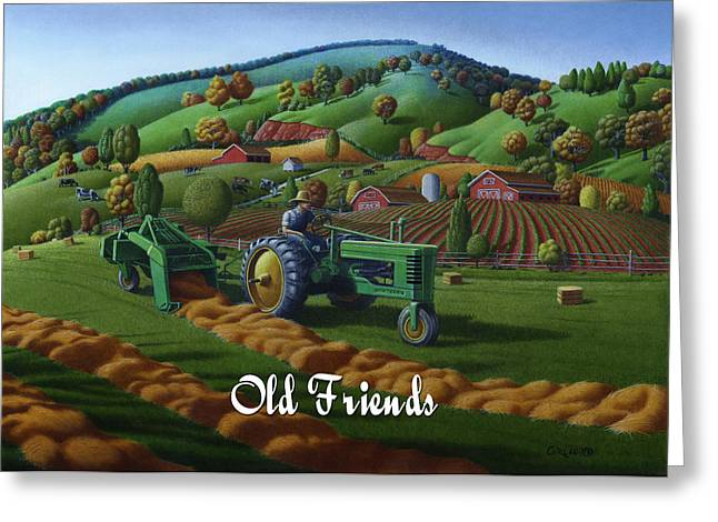 no 21 Old Friends Greeting Card
