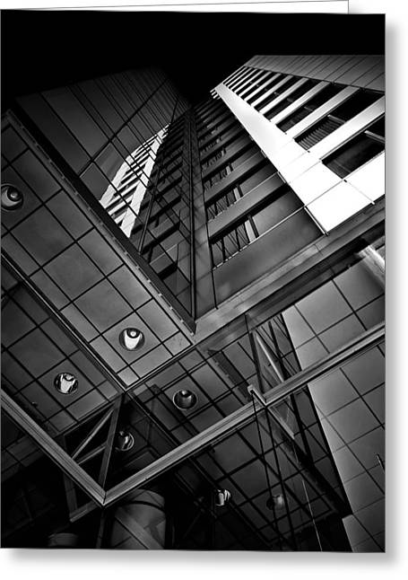 Greeting Card featuring the photograph No 225 King Street West David Pecaut Square Toronto Canada by Brian Carson