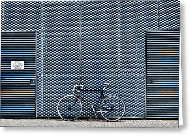 No Bikes Please Greeting Card