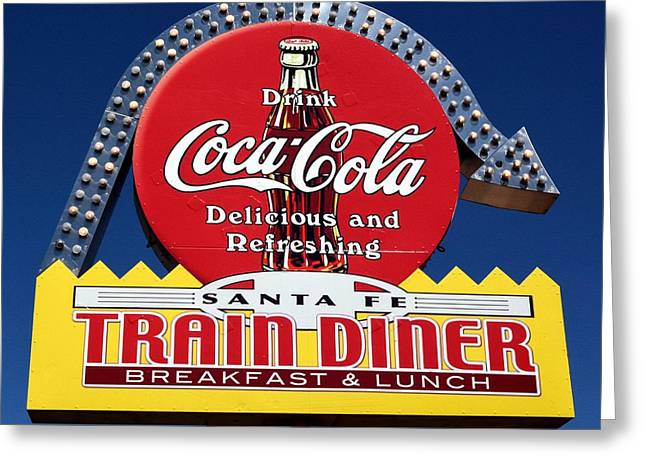 No Dinner At The Diner Greeting Card