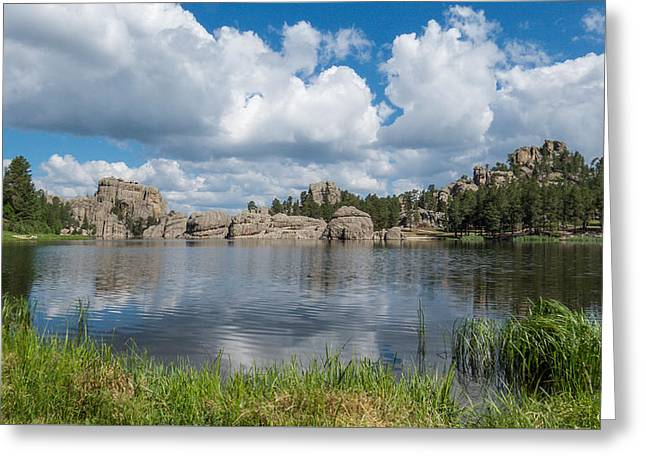 Sylvan Lake South Dakota Greeting Card