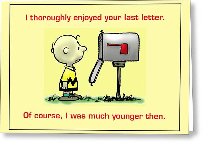No Mail Today Greeting Card by Mike Flynn