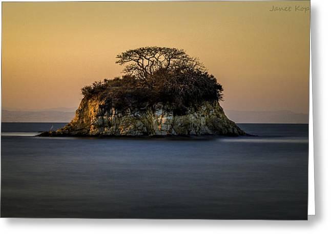 No Man Is An Island Greeting Card