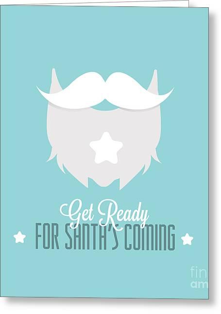 No Shave November,hair, Beard,mustache Greeting Card