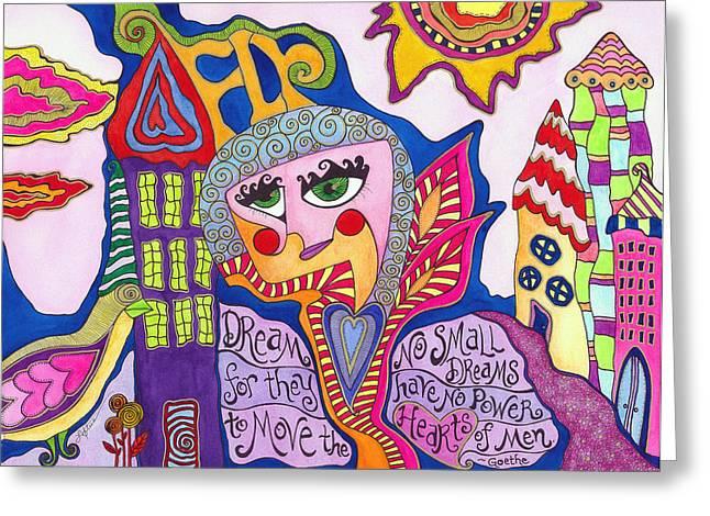 No Small Dreams Greeting Card by Joann Loftus