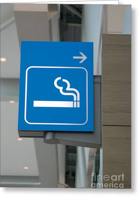 No Smoking Greeting Card
