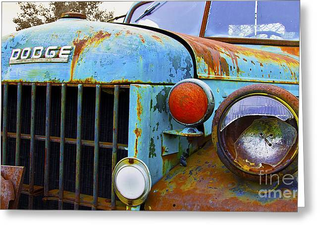 No Time For Repairs Greeting Card by John Debar