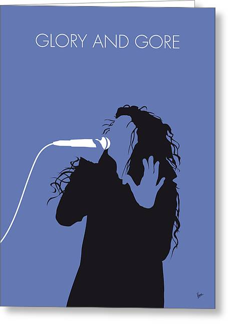 No028 My Lorde Minimal Music Poster Greeting Card by Chungkong Art