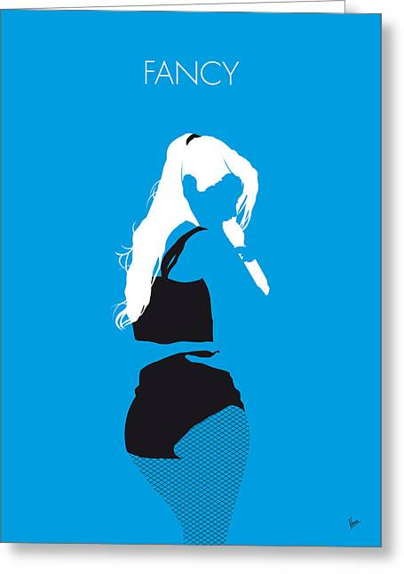 No049 My Iggy Azalea Minimal Music Poster Greeting Card by Chungkong Art