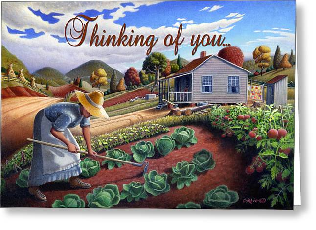 no13A Thinking of you Greeting Card