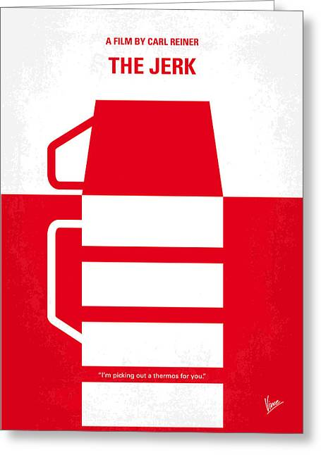 No350 My The Jerk Minimal Movie Poster Greeting Card by Chungkong Art