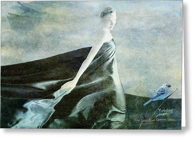 Nobility Greeting Card by Julie m Rae
