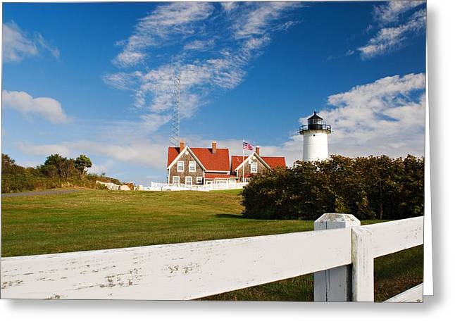 Nobska Point Lighthouse Greeting Card
