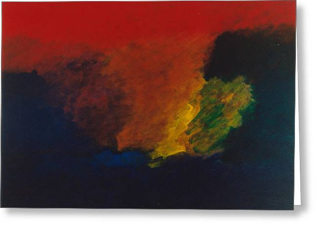 Nolde Homage 1985 Greeting Card