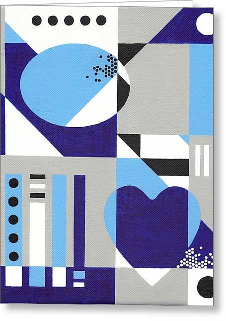 Nonpareil Greeting Card by Lance Bifoss