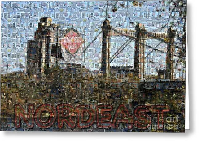 Nordeast Mosaic Greeting Card
