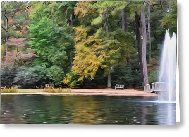 Norfolk Botanical Gardens 4 Greeting Card by Lanjee Chee