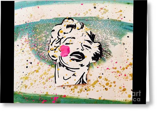 Norma Jean 2.... Greeting Card