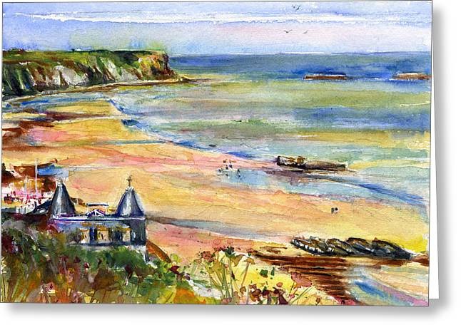 Normandy Beach Greeting Card