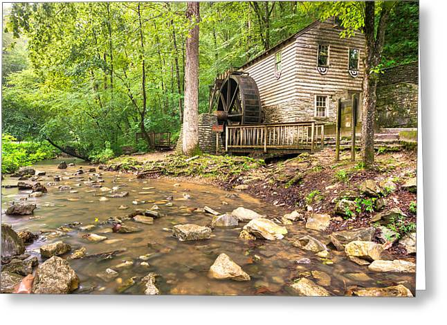 Norris Dam Grist Mill - Tennessee Greeting Card by Gregory Ballos