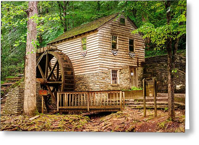 Rice Grist Mill - Norris Dam State Park - Tennessee Greeting Card by Gregory Ballos