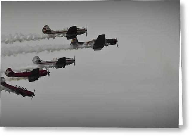 Norteast Raiders At The Greenwood Lake Airshow 2012 Greeting Card
