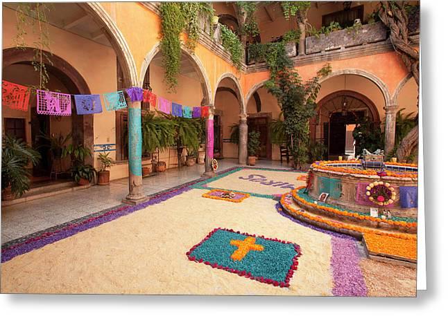 North America, Mexico, San Miguel De Greeting Card