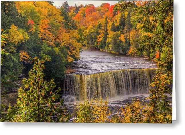 North America, Usa, Upper Peninsula Greeting Card