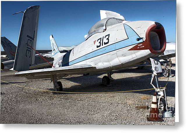 North American Fury Fj-3 Greeting Card by Gregory Dyer
