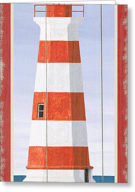 North American Lighthouses - Brier Greeting Card