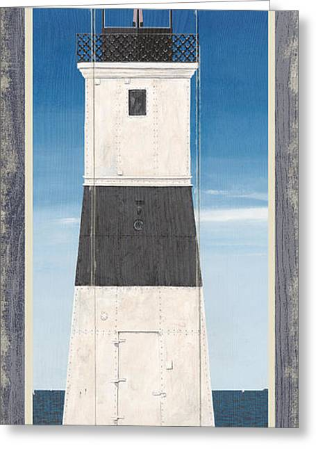 North American Lighthouses - Erie Greeting Card