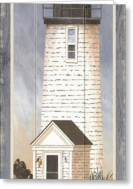 North American Lighthouses - Lewis Bay Greeting Card