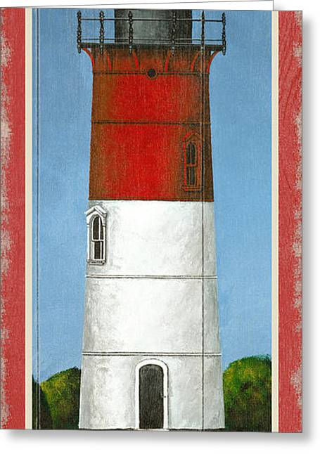 North American Lighthouses - Nauset Greeting Card