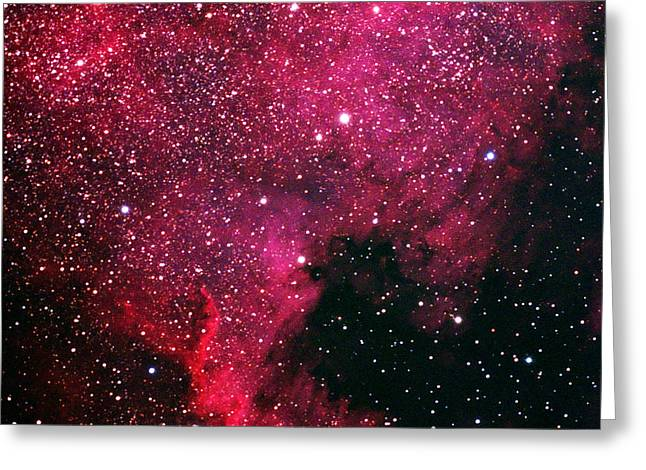 North American Nebula Greeting Card