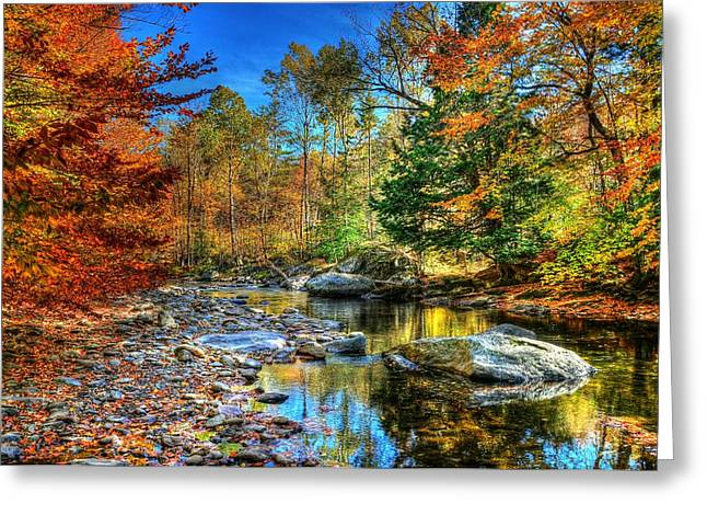 North Branch In Fall Greeting Card by John Nielsen