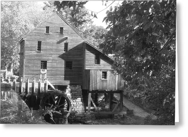 North Carolina Watermill Greeting Card by Dwight Cook