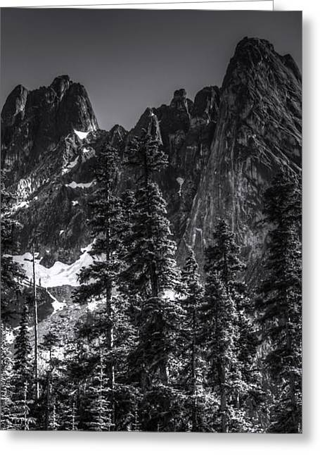 North Cascades Highway Liberty Bell Greeting Card