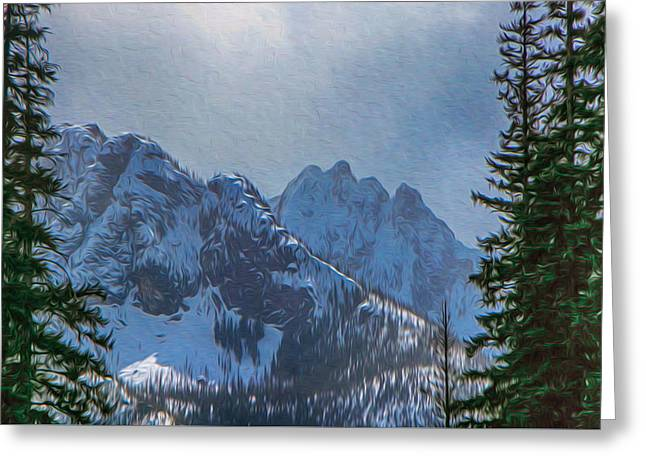 North Cascades Inspiration Greeting Card by Omaste Witkowski