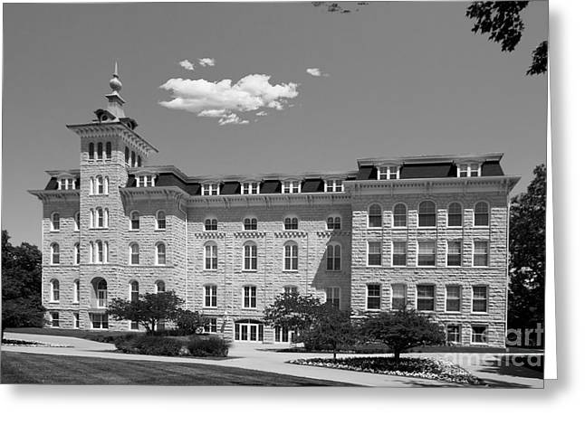 North Central College Old Main Greeting Card by University Icons