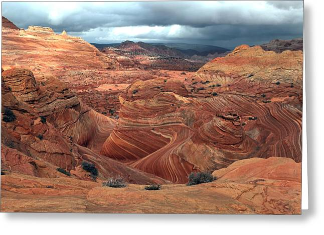 North Coyote Buttes Greeting Card