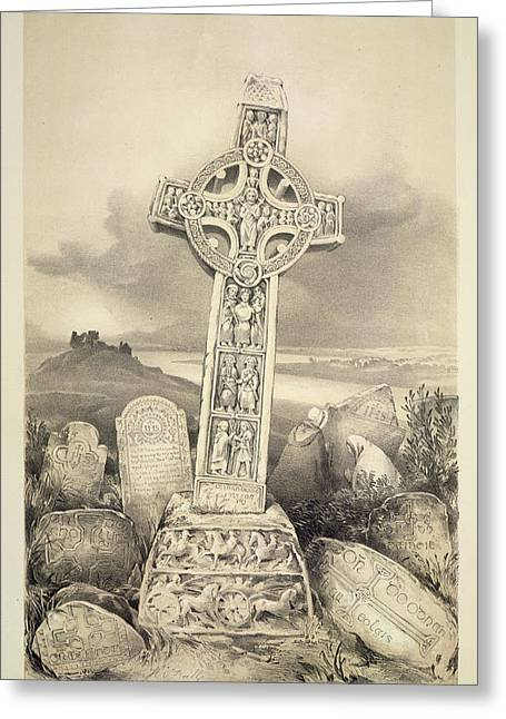 North Cross Greeting Card by British Library