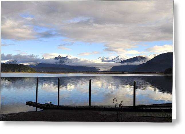 Greeting Card featuring the photograph North Douglas Reflections by Cathy Mahnke