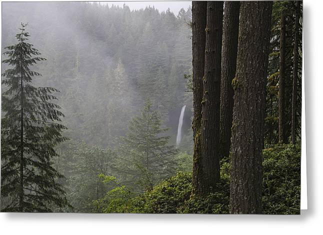 North Falls In The Distance Greeting Card