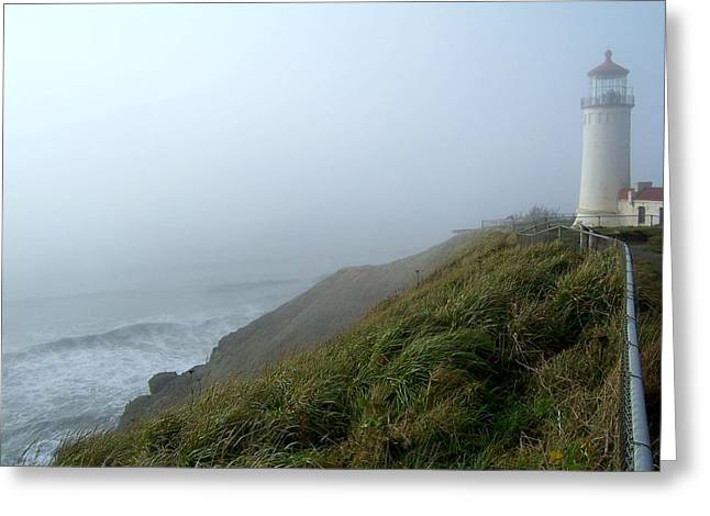 North Head Lighthouse 1 Greeting Card by Peter Mooyman